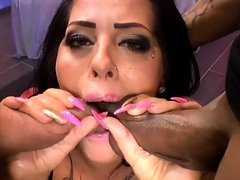 Ashley in blowjobs jizz flows and group sex deeds