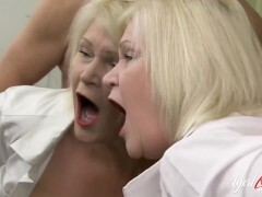 AGEDLOVE Gonzo act came when wild mature seduced guy