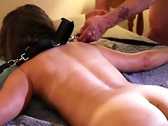 Sandra Moore TMS-6 Unexperienced Mummy Restrained Paddled Pussy Pounding Jizz flow