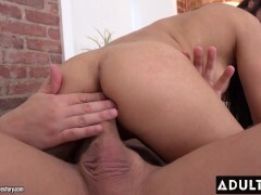 Super-sexy Brown-haired Easily Pleased With Tough Anal invasion Romp Sesh