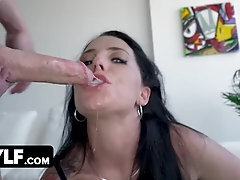 Blue Saw Mature Fuckslut In Undergarments Marie Symone Takes Hard-on Deep Down Her Gullet
