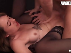 LANOVICE - SOPHIE OCELOT FRENCH Woman Enjoys TO GET Nailed IN THE Booty