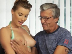 DADDY4K Sexually aroused belle is in the mood for an affair with BFs father
