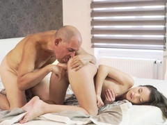 Old guy and woman hd very first time Anita B had a sexual desire th