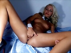 Cunt stretched broad close-up Vaginal going knuckle deep