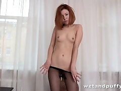 Torn Tights - Solo Assfuck and More