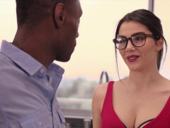 BLACKED Valentina Nappi takes the thickest big black cock in the world