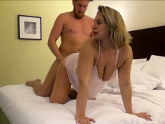 GERMAN Plumper Teenager AT PRIVAT MMF Three way FUCK AFTER COLLEGE