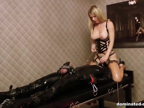 Mistress Latex - Horny Mistress And Her Latex Slave