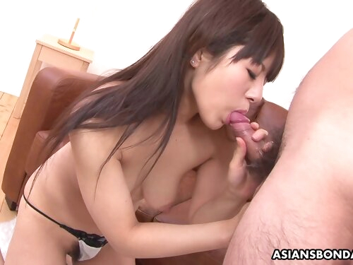 Submissive Asian Chick Momo Imai Gets Toyed And Sucks Dick